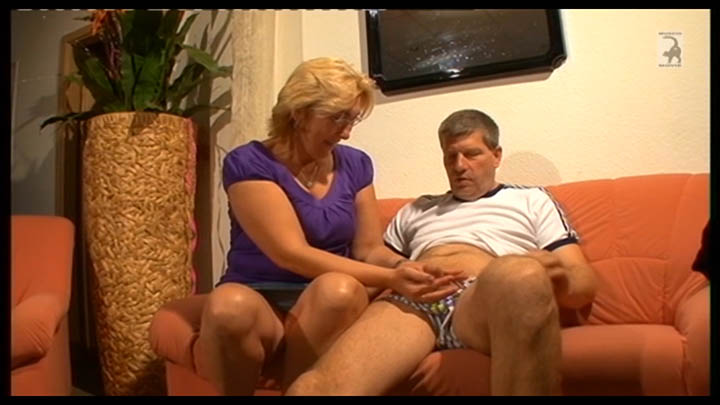 Lusty grandma fuck with son-in-law